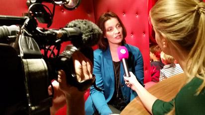 Melanie Herzig SAT1 Interview
