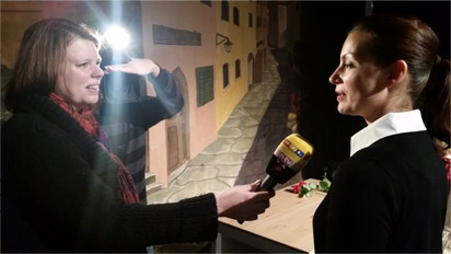 Melanie Herzig RTL Interview